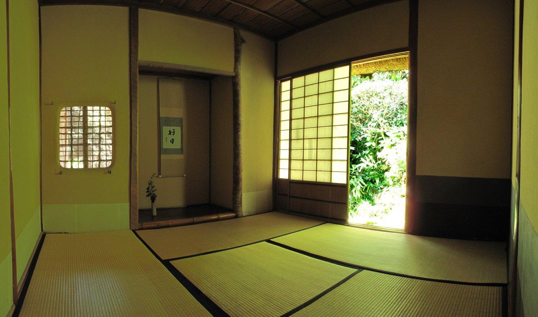 9月17日吐月峰紫屋寺 茶室 パノラマ写真(1) 3.1M(800)