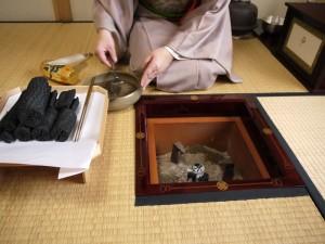 茶道 釜 使い方 方法 電熱 炭