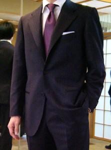 茶会 服装 男性 スーツ
