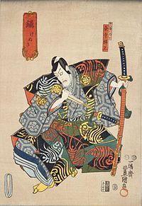 Kenuki,_Ichikawa_Ebizo_V_as_Kumedera_Danjo